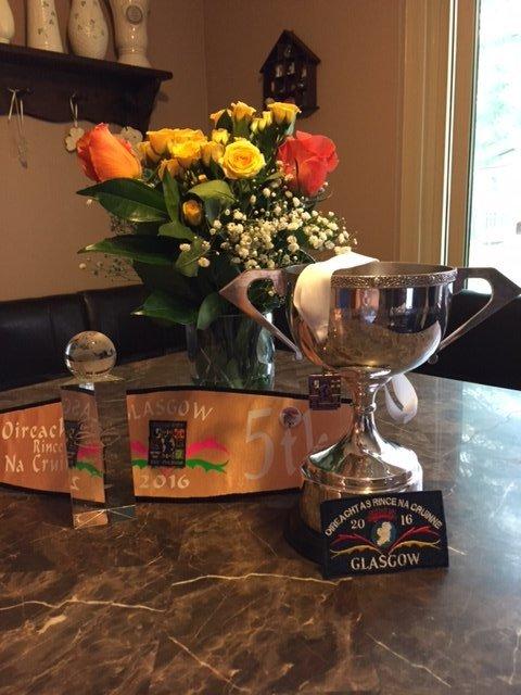 2016 worlds trophy